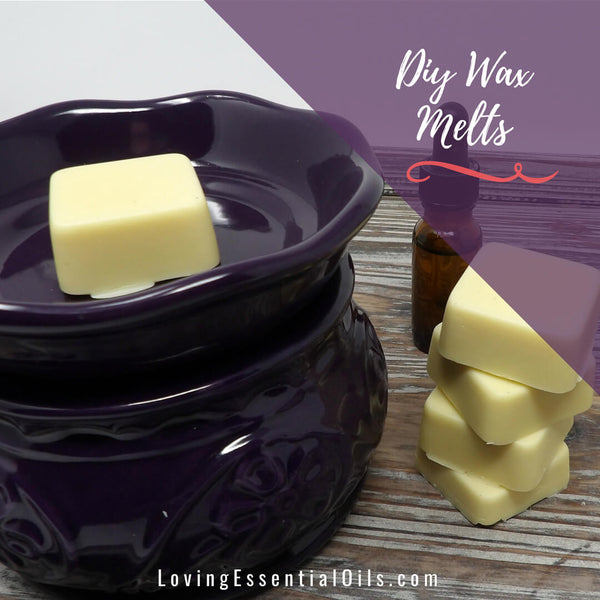DIY Wax Melts Recipe with Essential Oils
