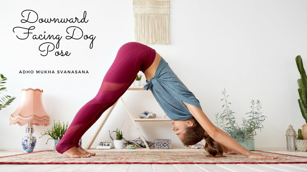 Downward Facing Dog Benefits by Loving Essential Oils