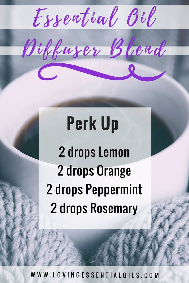 Essential Oil Diffuser Blend - Perk Up by Loving Essential Oils