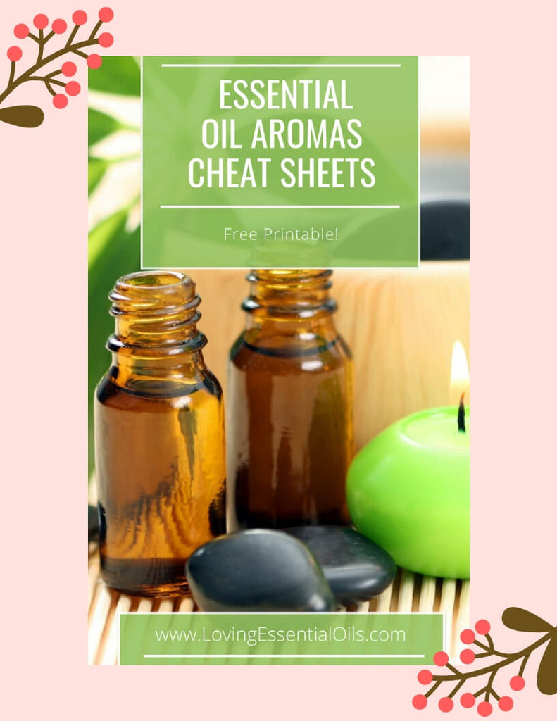 Essential Oil Aromas - Free Printable Cheat Sheets by Loving Essential Oils