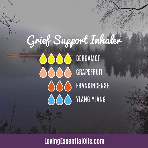 Essential oil blend for Grief support by Loving Essential Oils