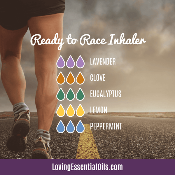 Essential Oil Blend for Runners - Ready to Race Inhaler by Loving Essential Oils