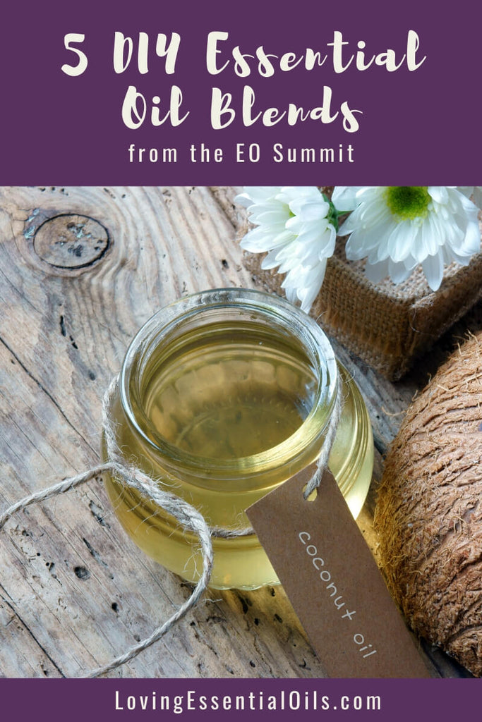 5 DIY Essential Oil Blends From EO Transformation Summit by Loving Essential Oils