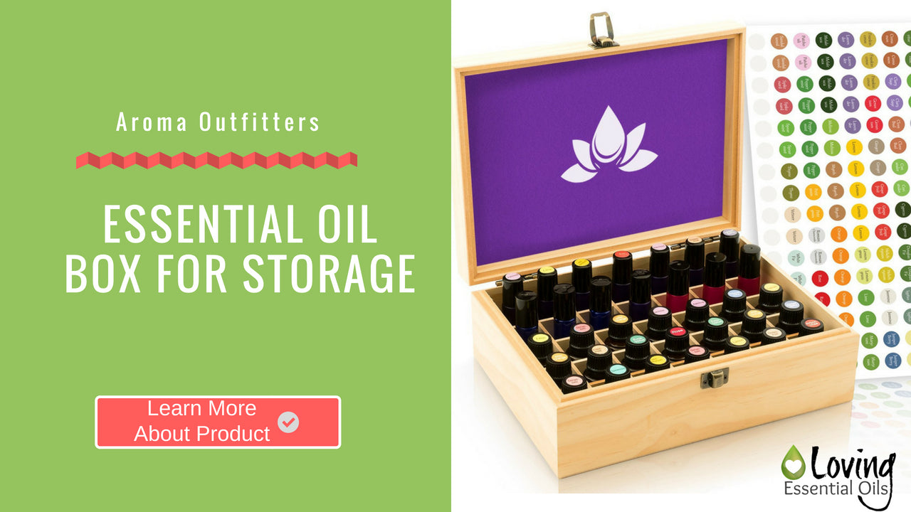 Essential Oil Box For Storage