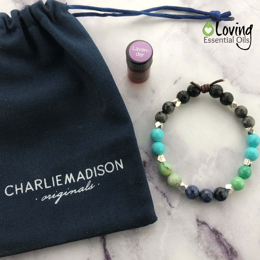 Essential Oil Diffuser Bracelet from CharlieMadison Originals - Loving Essential Oils