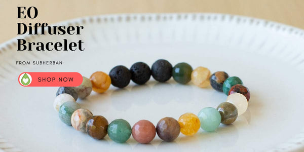 Essential Oil Diffuser Bracelet from Subherban