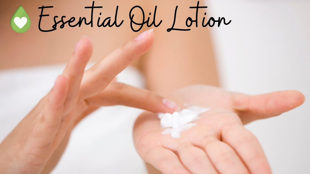 Essential Oil Lotion Recipes for Aromatherapy by Loving Essential Oils