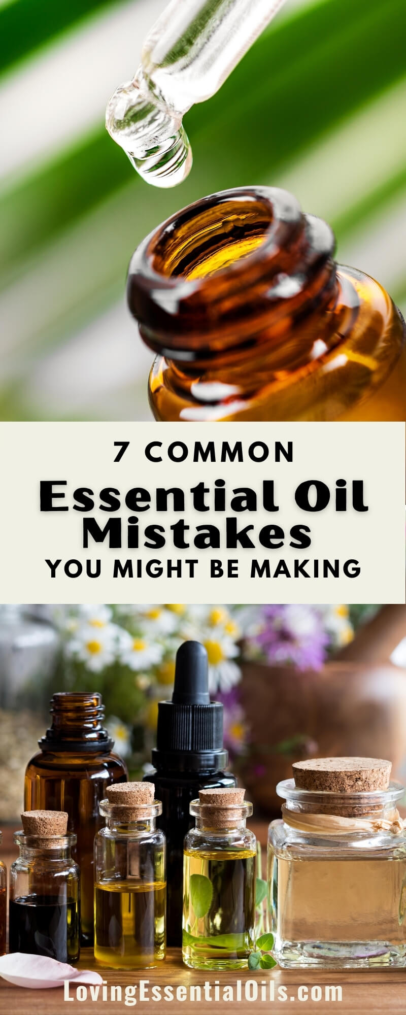 Essential Oil Safety Mistakes by Loving Essential Oils