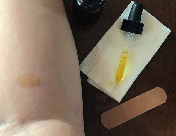 How To Do An Essential Oil Skin Test - Oily FAQ by Loving Essential Oils