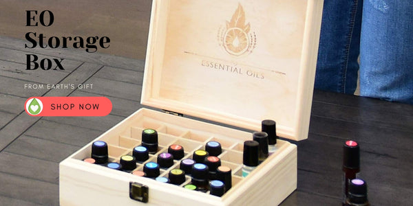 Essential Oil Storage Box from Earth's Gift