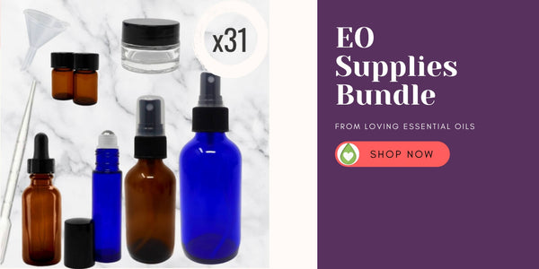 DIY Essential Oil Supplies Kit from Loving Essential Oils
