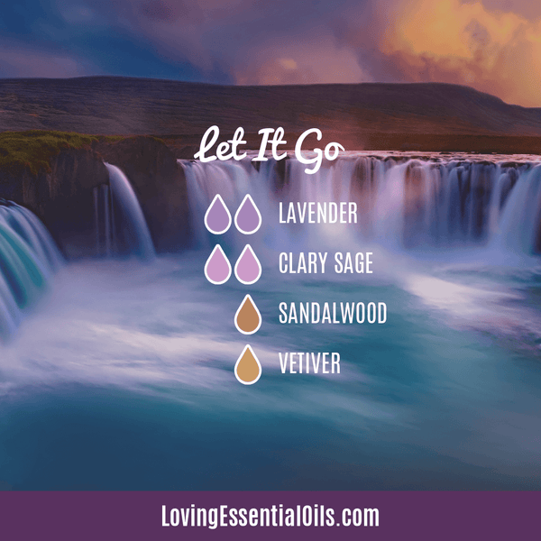 Let It Go Diffuser Blend - 12 Essential Oils Diffuser Benefits for Health & Wellness by Loving Essential Oils
