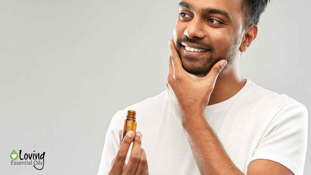 How to Use Beard Oil Plus DIY Eucalyptus Beard Oil by Loving Essential Oils