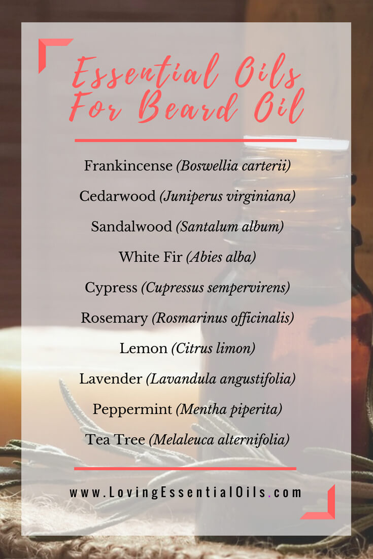 Essential Oils for Beard Oil by Loving Essential Oils