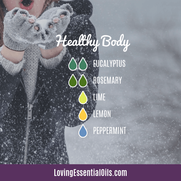 20 Amazing Ways to Use Essential Oils For Health - Healthy Body Diffuser Blend by Loving Essential Oils