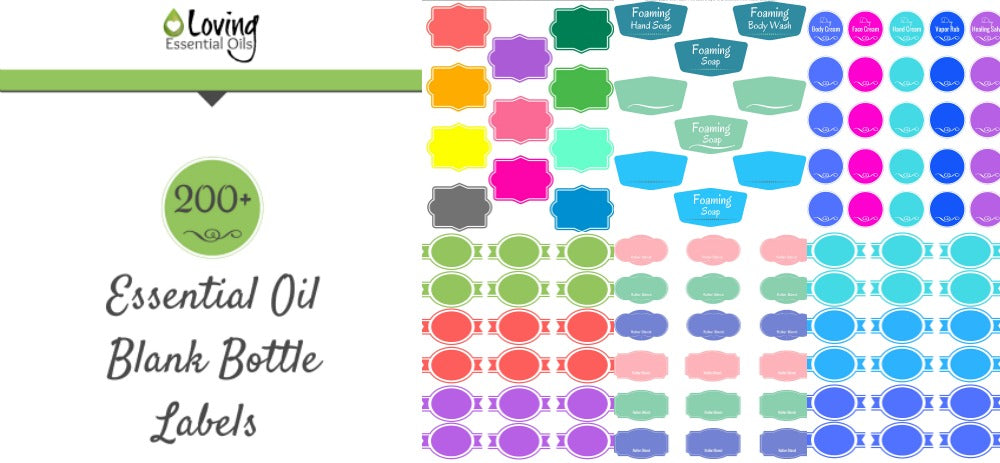 graphic relating to Printable Essential Oil Labels referred to as 200+ No cost Imperative Oil Labels Oneself Can Print Up For Your Do-it-yourself