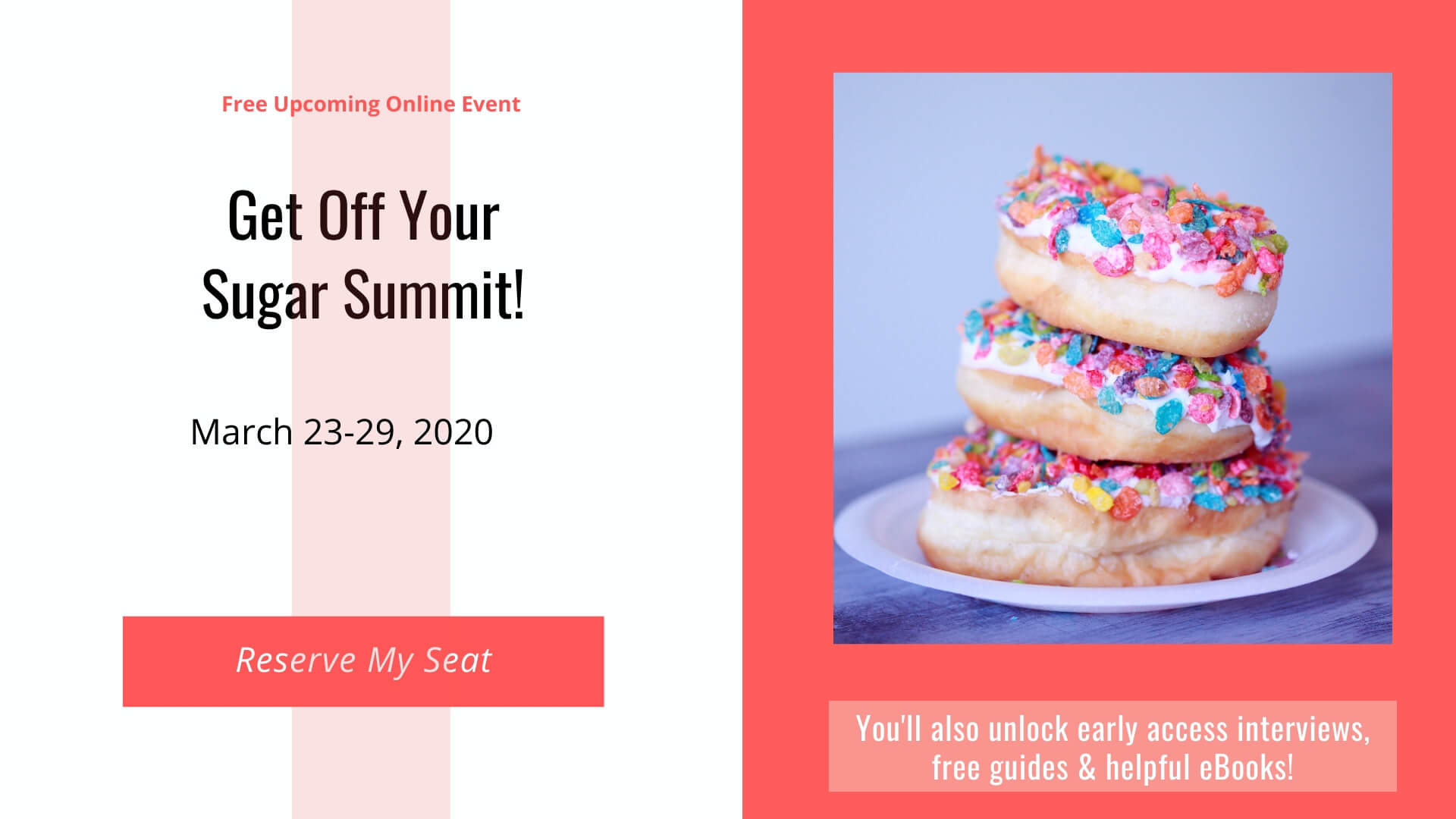 Get Off Your Sugar Summit