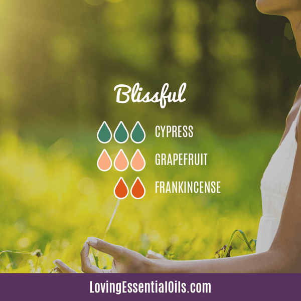 Grapefruit Essential Oil Blends - Blissful Diffuser Recipe by Loving Essential Oils