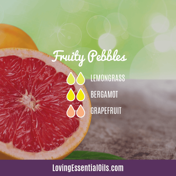 Grapefruit Essential Oil Blends - Fruity Pebbles Diffuser Recipe by Loving Essential Oils