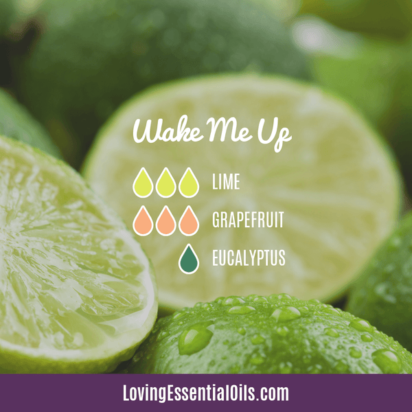 Grapefruit Essential Oil Blends - Wake Me Up Diffuser Recipe by Loving Essential Oils