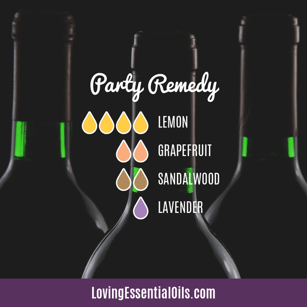 Hangover Diffuser Blend Party Remedy by Loving Essential Oils