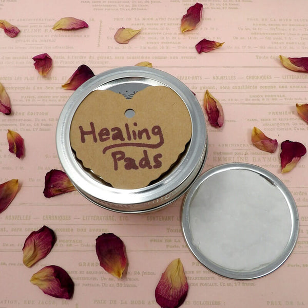 Homemade Witch Hazel Pads for Natural Skincare by Loving Essential Oils