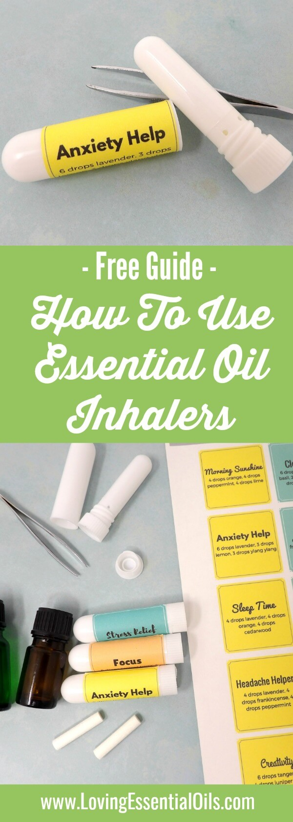 How To Use An Essential Oil Inhaler For Aromatherapy by Loving Essential Oils