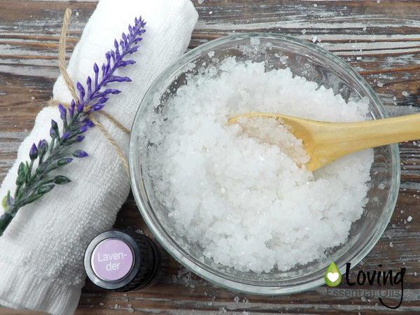 Lavender Bath Salts - 7 Fabulous Bath Salt Recipes For You To Make