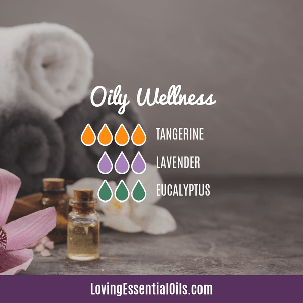 Lavender Diffuser Blends - Promtoe Comfort & Oily Wellness by Loving Essential Oils | Oily Wellness with tangerine, lavender and eucalyptus essential oil