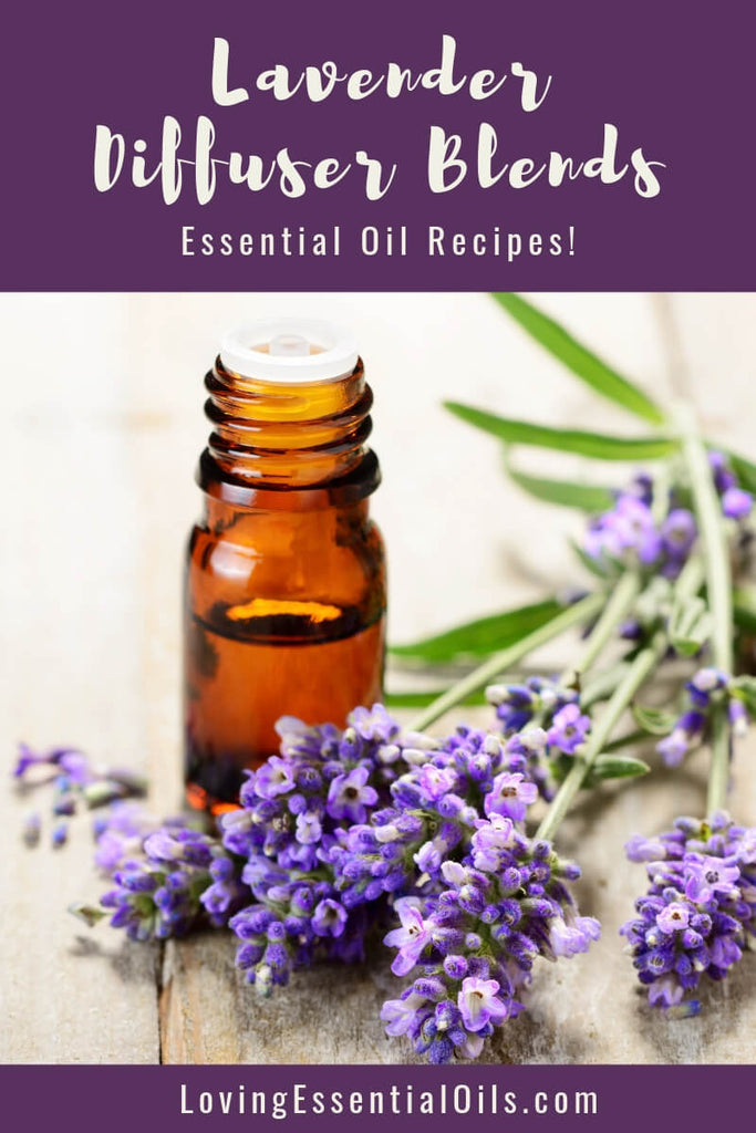 Lavender Diffuser Blends - Promtoe Comfort & Oily Wellness by Loving Essential Oils