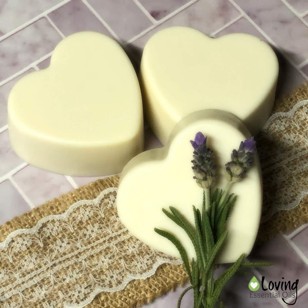 Lavender Soap Benefits with Melt and Pour Soap Recipe by Loving Essential Oils