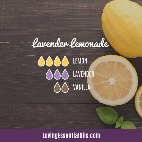 Lemon Diffuser Blend Lavender Lemonade by Loving Essential Oils - Lemon Essential Oil Spotlight