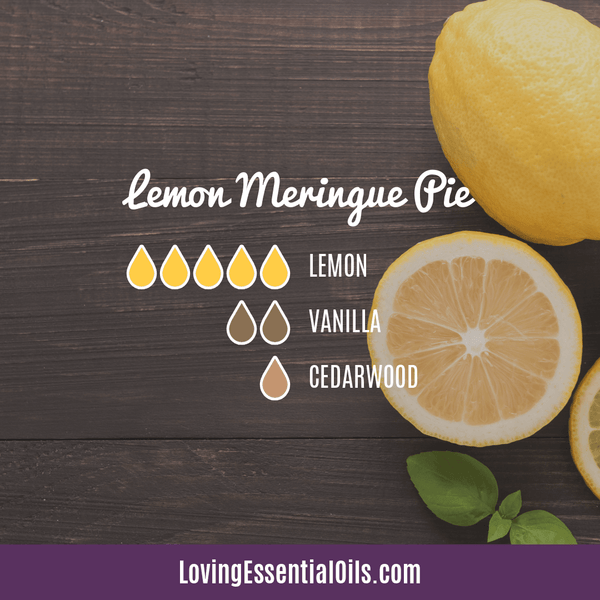 10 Bright & Fresh Lemon Diffuser Blends - Free Printable by Loving Essential Oils | Lemon Meringue Pie