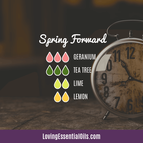 10 Bright & Fresh Lemon Diffuser Blends - Free Printable by Loving Essential Oils | Spring Forward