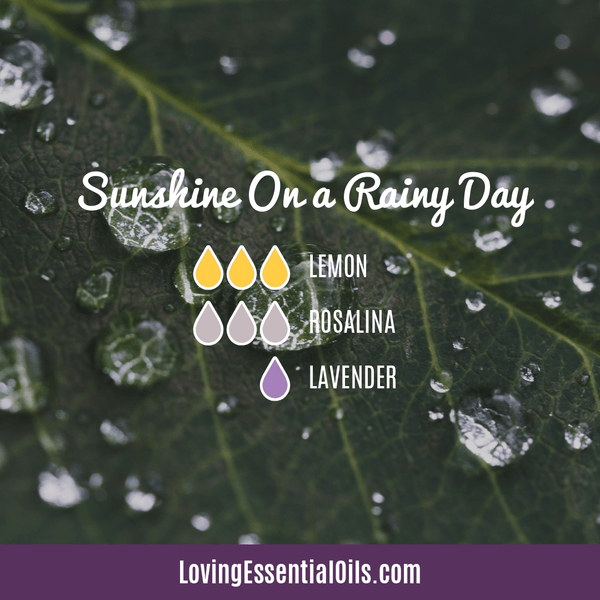 Lemon Diffuser Blend - Free Printable by Loving Essential Oils | Sunshine on a Rainy Day