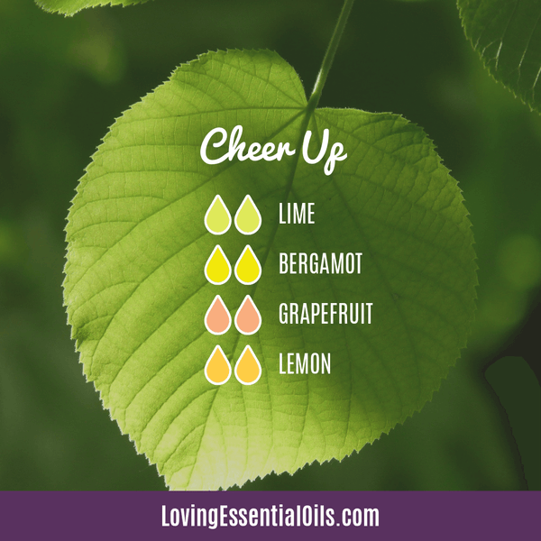 Lime Diffuser Blends - Refresh & Energize Your Day! by Loving Essential Oils | Cheer Up with lime, bergamot, grapefruit and lemon