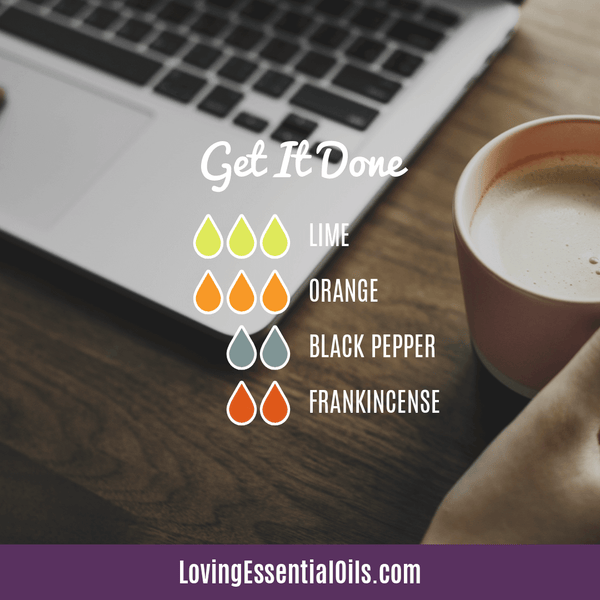 Lime Diffuser Blends - Refresh & Energize Your Day! by Loving Essential Oils | Get it Done with lime, orange, black pepper, and frankincense