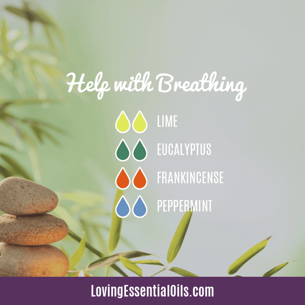 Lime Diffuser Blends - Refresh & Energize Your Day! by Loving Essential Oils | Help with Breathing with lime, eucalyptus, frankincense, and peppermint