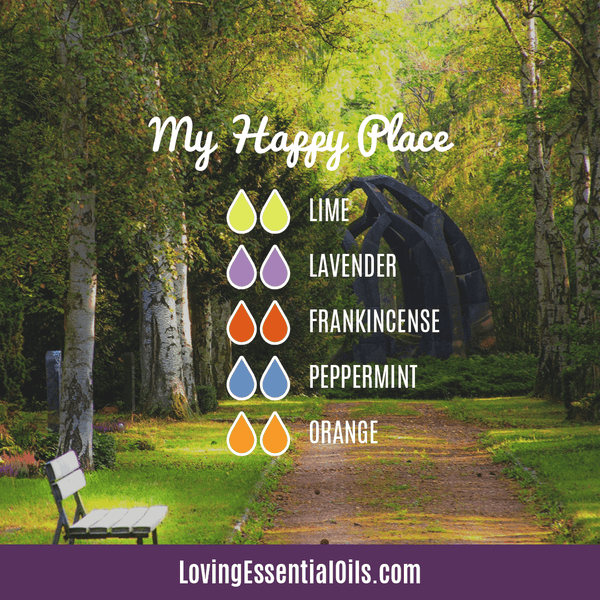 Lime Diffuser Blends - Refresh & Energize Your Day! by Loving Essential Oils | My Happy Place with lime, lavender, frankincense, peppermint, and orange