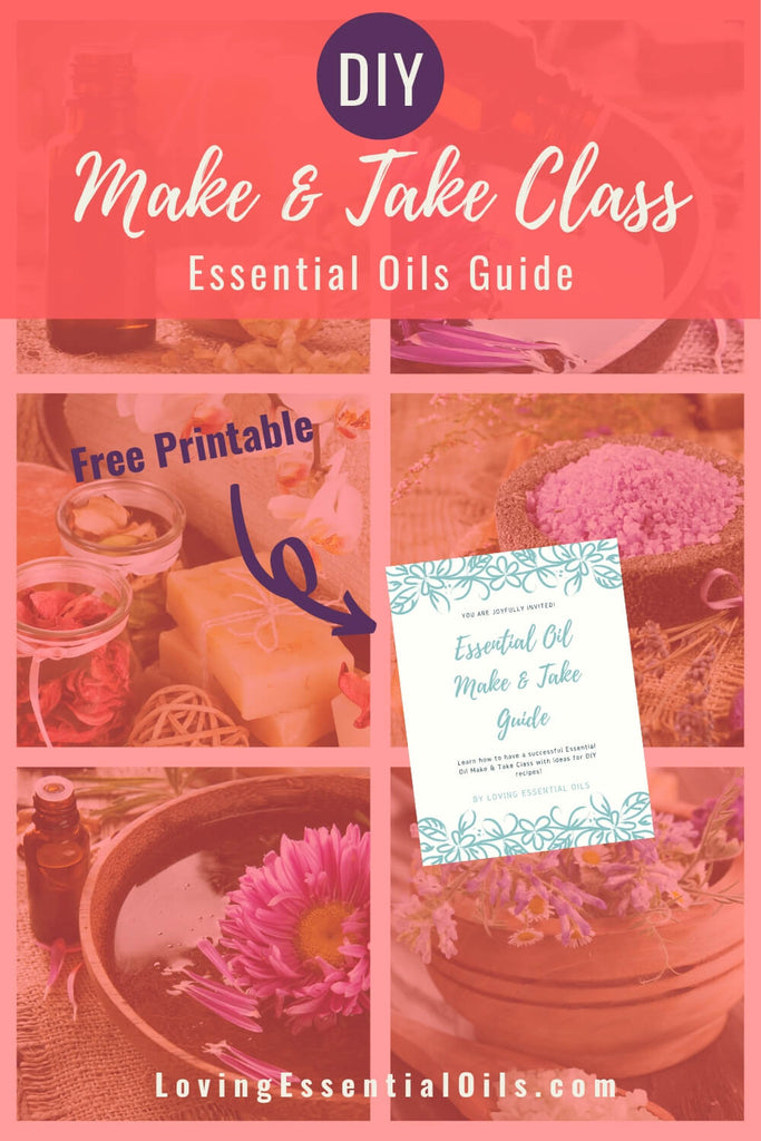 Make and Take Essential Oils Guide - Free Printable PDF by Loving Essential Oils