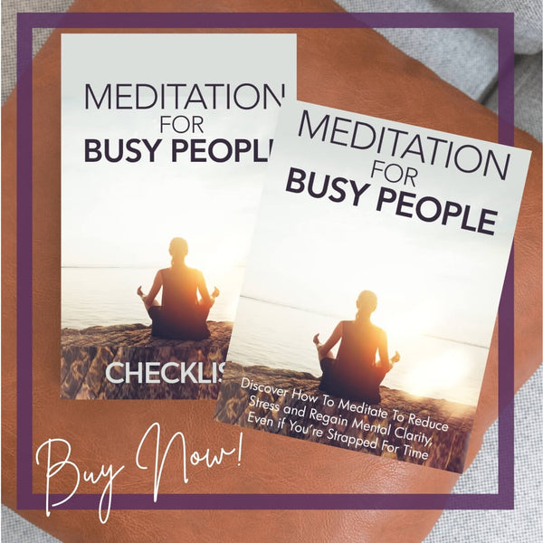 Meditation Guide for Busy People by Loving Essential Oils