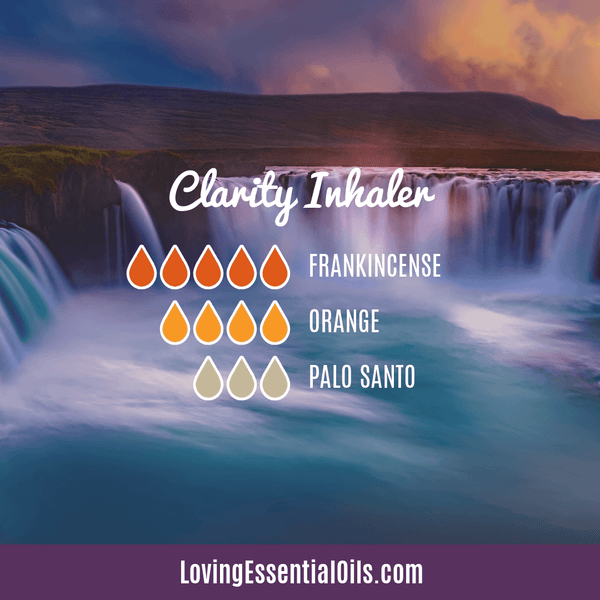 Mental Clarity Essential Oil Inhaler by Loving Essential Oils
