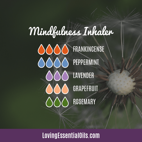 Mindfulness Essential Oil Inhaler Blend by Loving Essential Oils