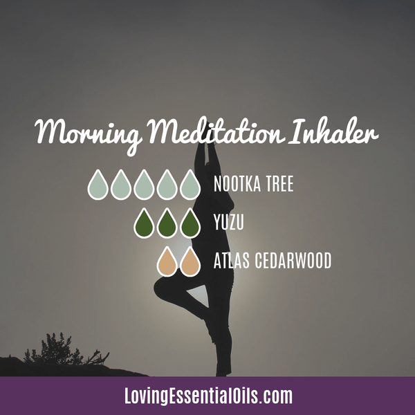 Nootka Essential Oil Blend - Morning Meditation by Loving Essential Oils