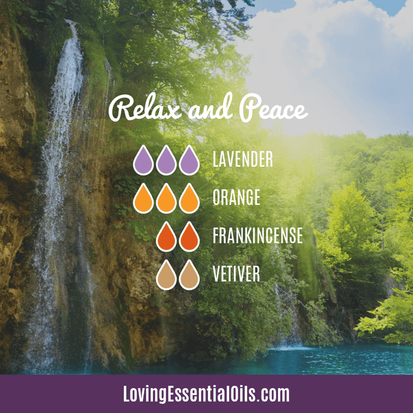 Orange Diffuser Blends - Relax and Peace Blend