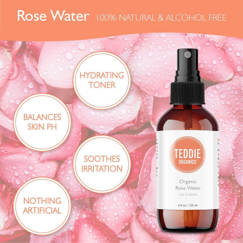 Teddies Organic Rose Water Benefits