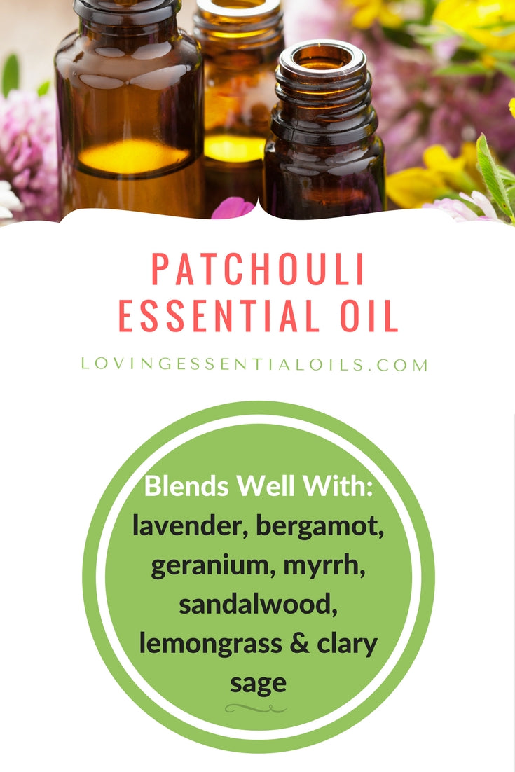 Patchouli Essential Oil Blends Well With