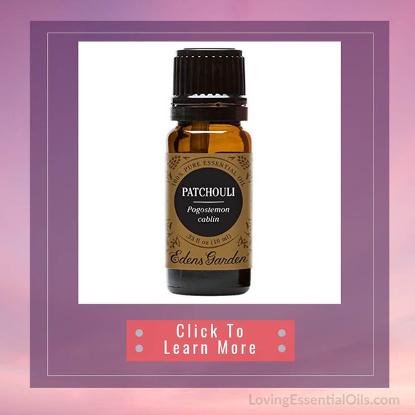 Patchouli Diffuser Blends - Deep Relaxation & Confidence by Loving Essential Oils | Patchouli Essential Oil Edens Garden