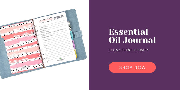 Plant Therapy Essential Oil Journal and Organizer