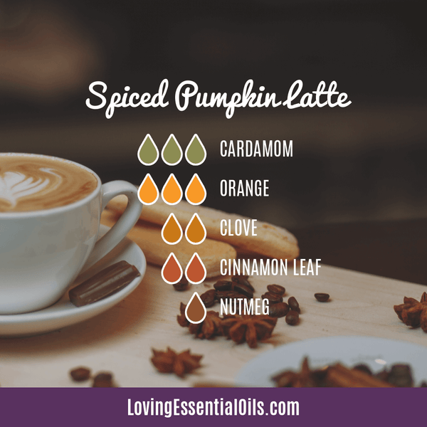 8 Pumpkin Spice Essential Oil Blends - Scent of the Season by Loving Essential Oils | Room Spray with cardamom, orange, clove, cinnamon leaf, and nutmeg
